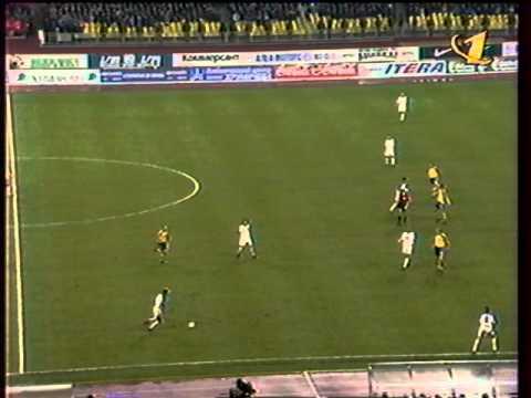 Россия - Украина 1:1. Отбор ЧЕ-2000 (полный матч).