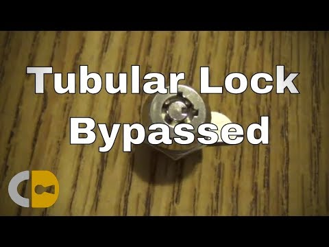How to (Easily) Open a Tubular Lock with a Straw