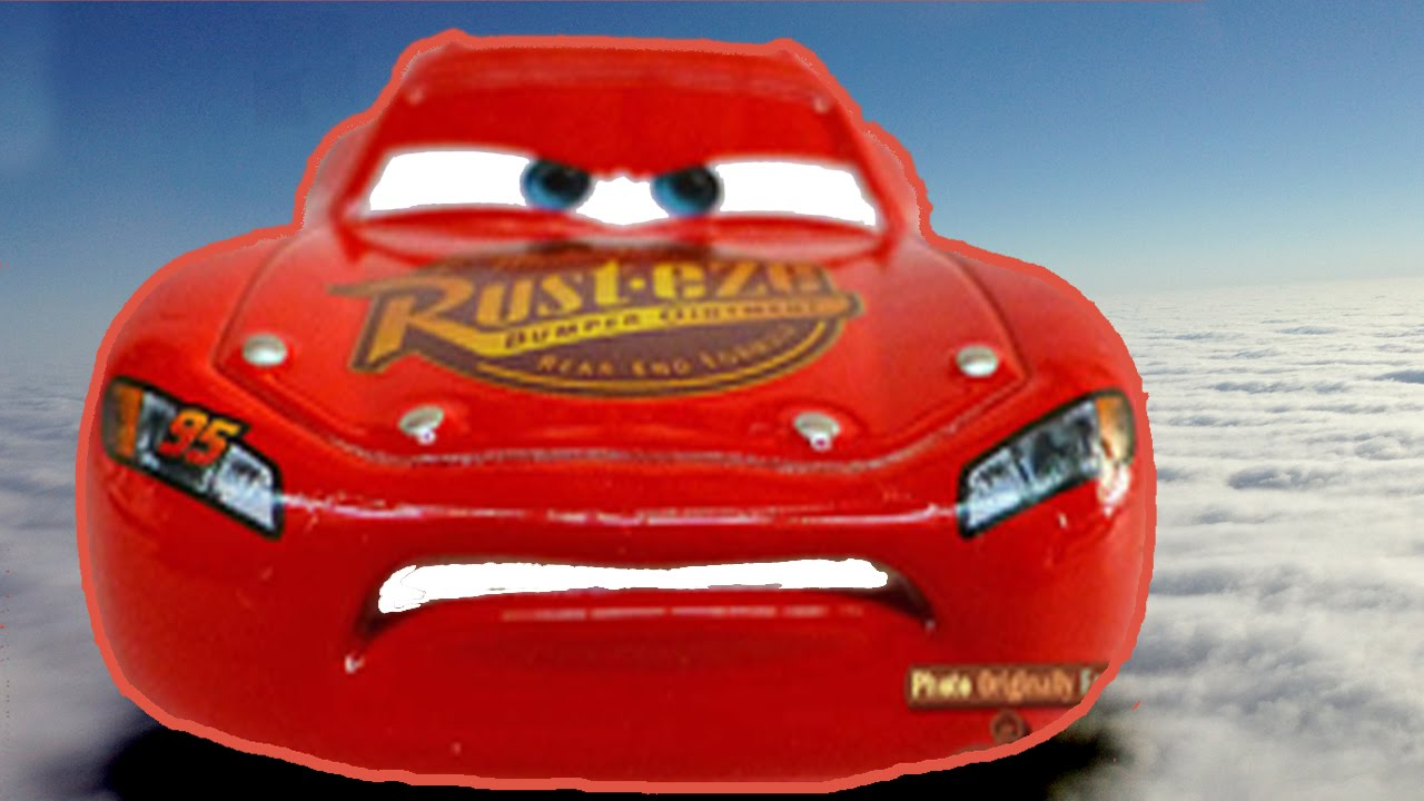 Disney Cars Lightning Mcqueen Flying Mater Superman Pixar Toy Movie Fun For Kids Youtube
