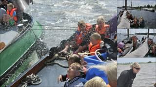 Piraterij op camping de Kuilart te Koudum in Friesland