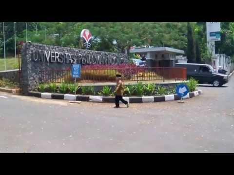 Suasana Kampus UPI (Universitas Pendidikan Indonesia) Bandung