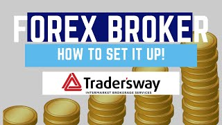 How To Set Up A Forex Broker Account | Tradersway