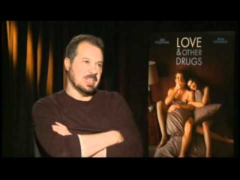 with director Edward Zwick for Love And Other Drugs