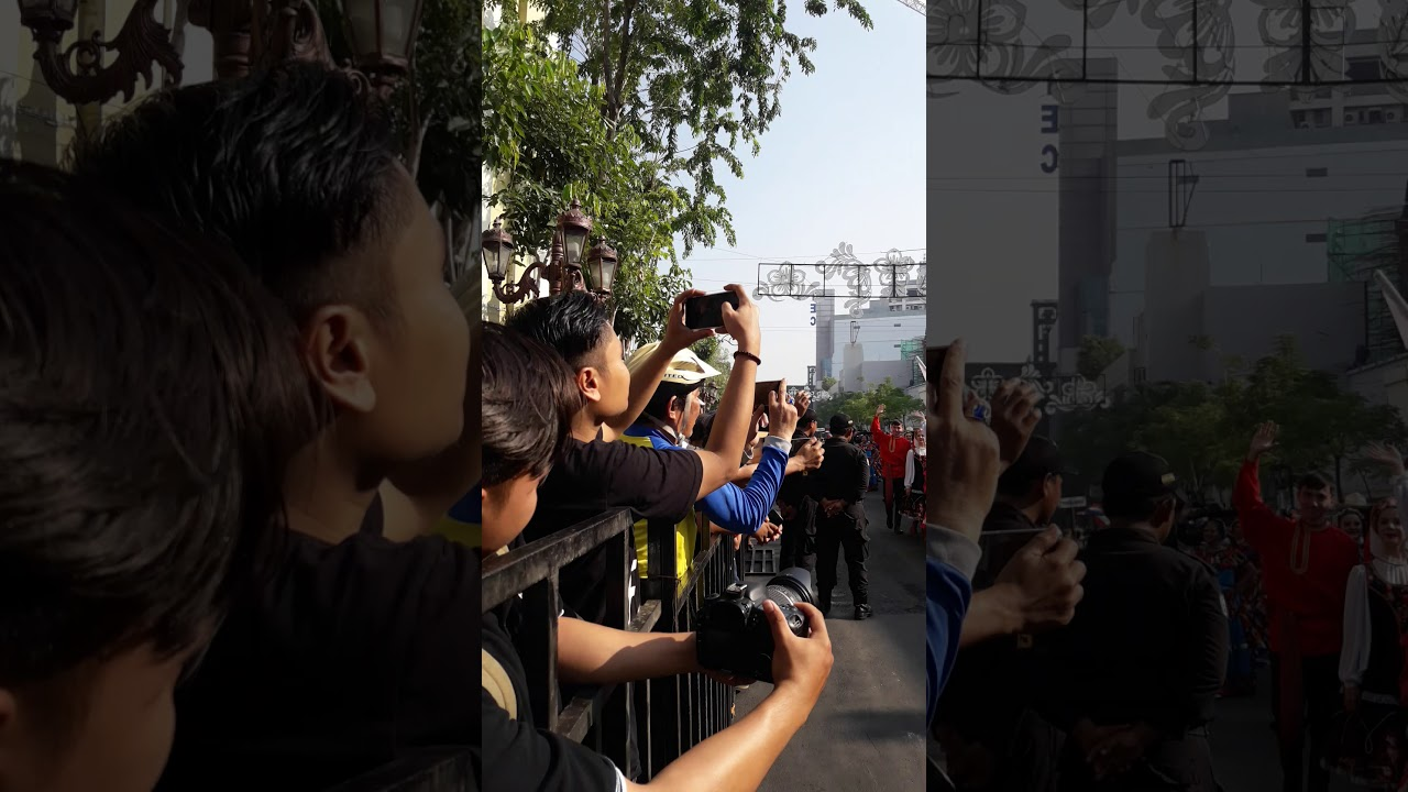 Surabaya cross culture international folk art festival 2019