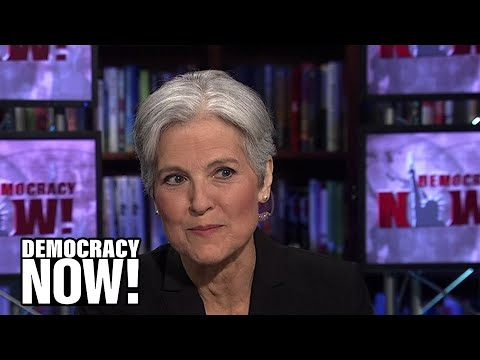 Exclusive: Green Party's Jill Stein Announces She Is Running for President on Democracy Now!