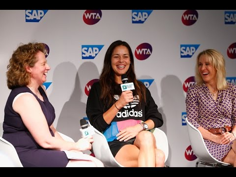SAP Press Confrence | 2014 WTA Finals