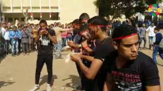فيديو وصور| عروض صاعقة وقتالية بالتربية العسكرية بمدرسة