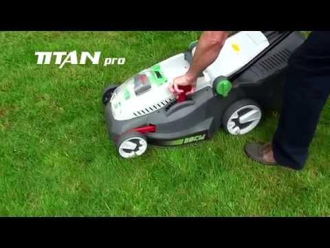 Lithium Ion Garden Machinery From Titan Pro Ltd