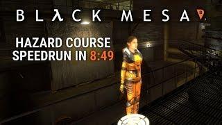 Black Mesa Hazard Course speedrun in 8:49 by Draiku & KranK
