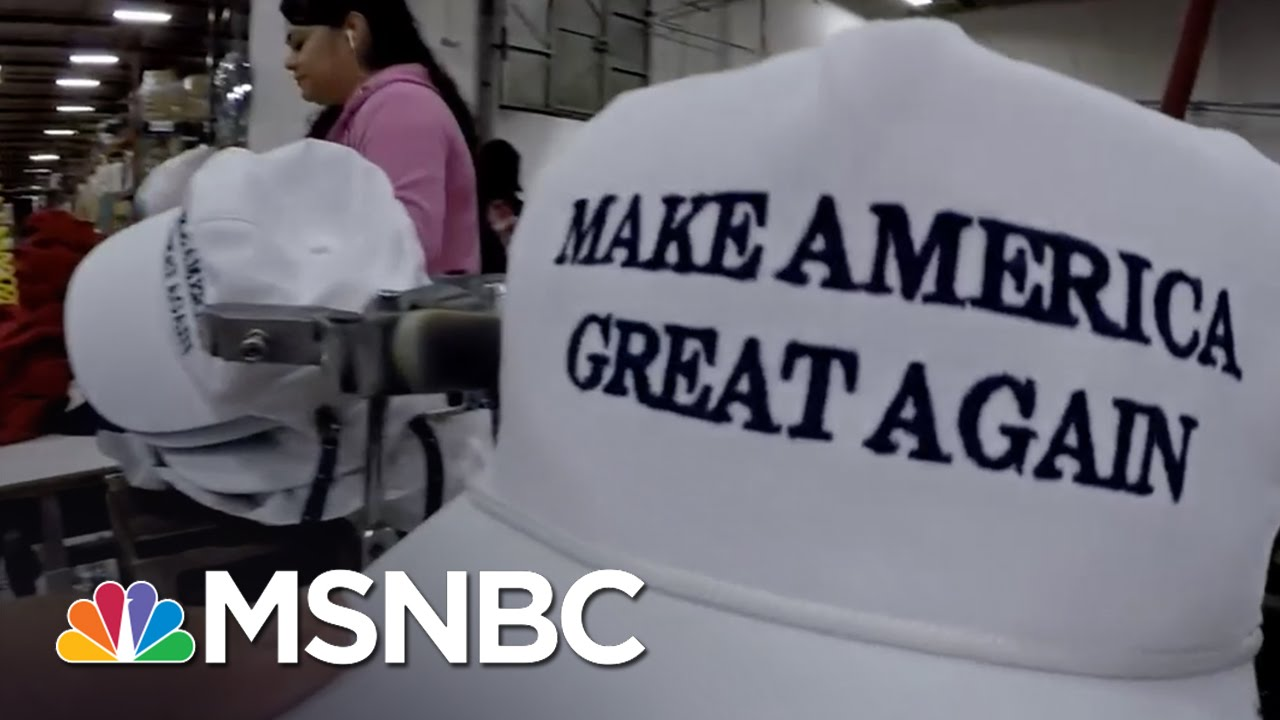 a4b9738a596d5 Inside Donald Trump s  Make America Great Again  Hat Factory