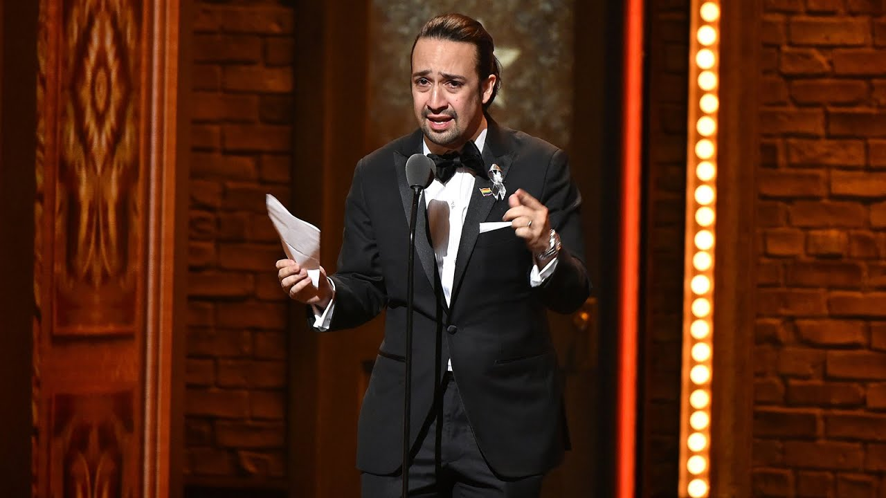 Lin-Manuel Miranda Tony Award 2016 - Love is Love is Love