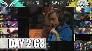 Flash Wolves vs SuperMassive   Day 2 Mid Season Invitational 2016   FW vs SUP MSI 1080p