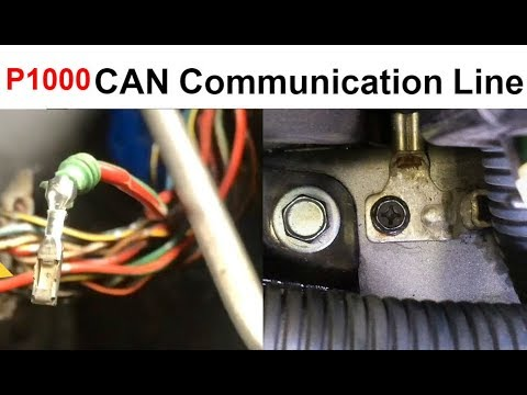 U1000 Nissan Can Communication Line Signal Malfunction