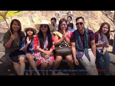 2018 Cambodian New Year at Wat Khmer Lake Elsinore California#2