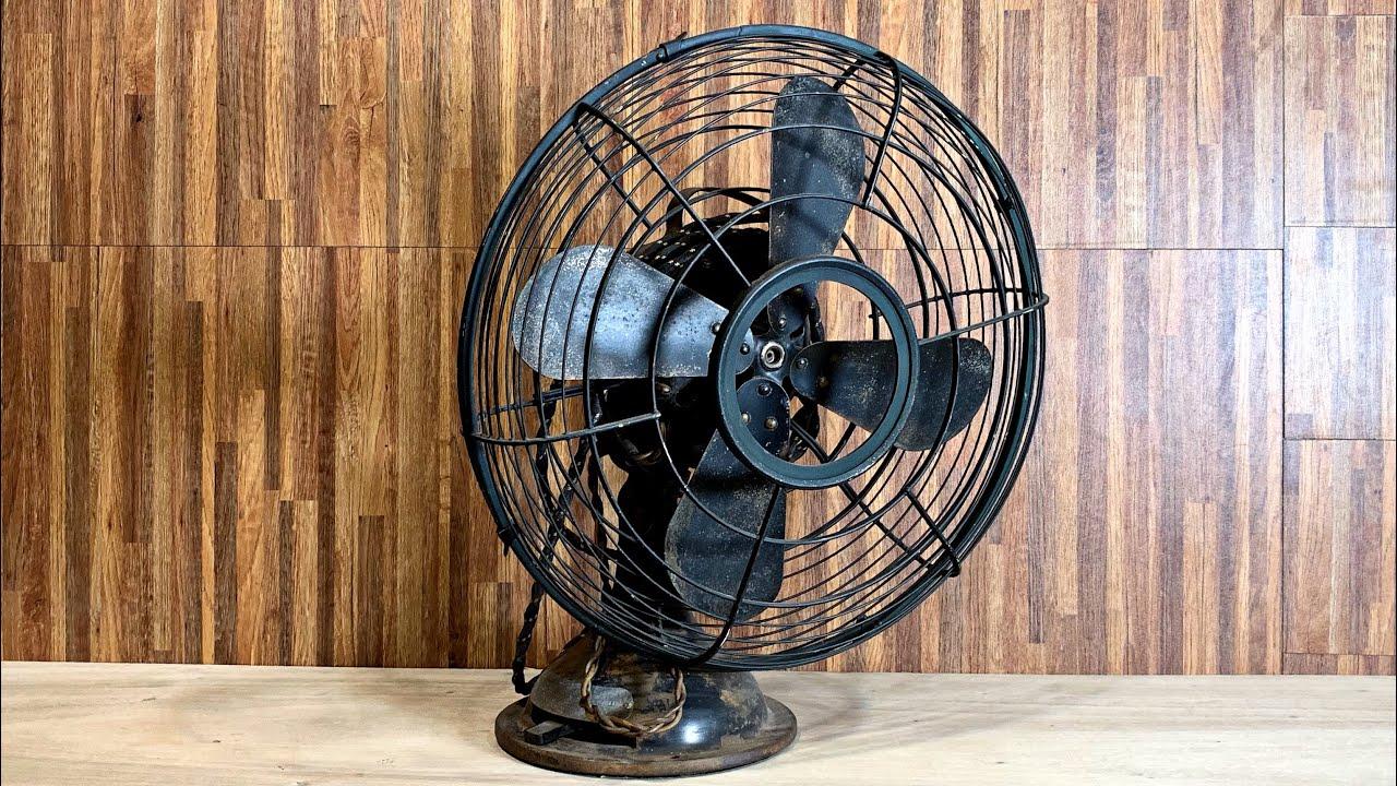 Antique Table Fan Restoration You