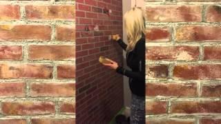 Creating Faux Brick