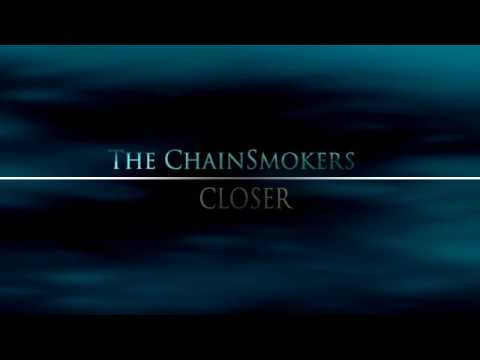 Chainsmokers Closer   Typography