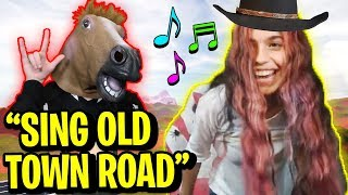 Making LISBOKATE Sing OLD TOWN ROAD... (Straw vs HelloItsVG vs MyUsernamesThis) | Roblox Jailbreak