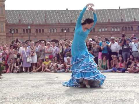alegria flamenco plaza España Sevilla sept 2012