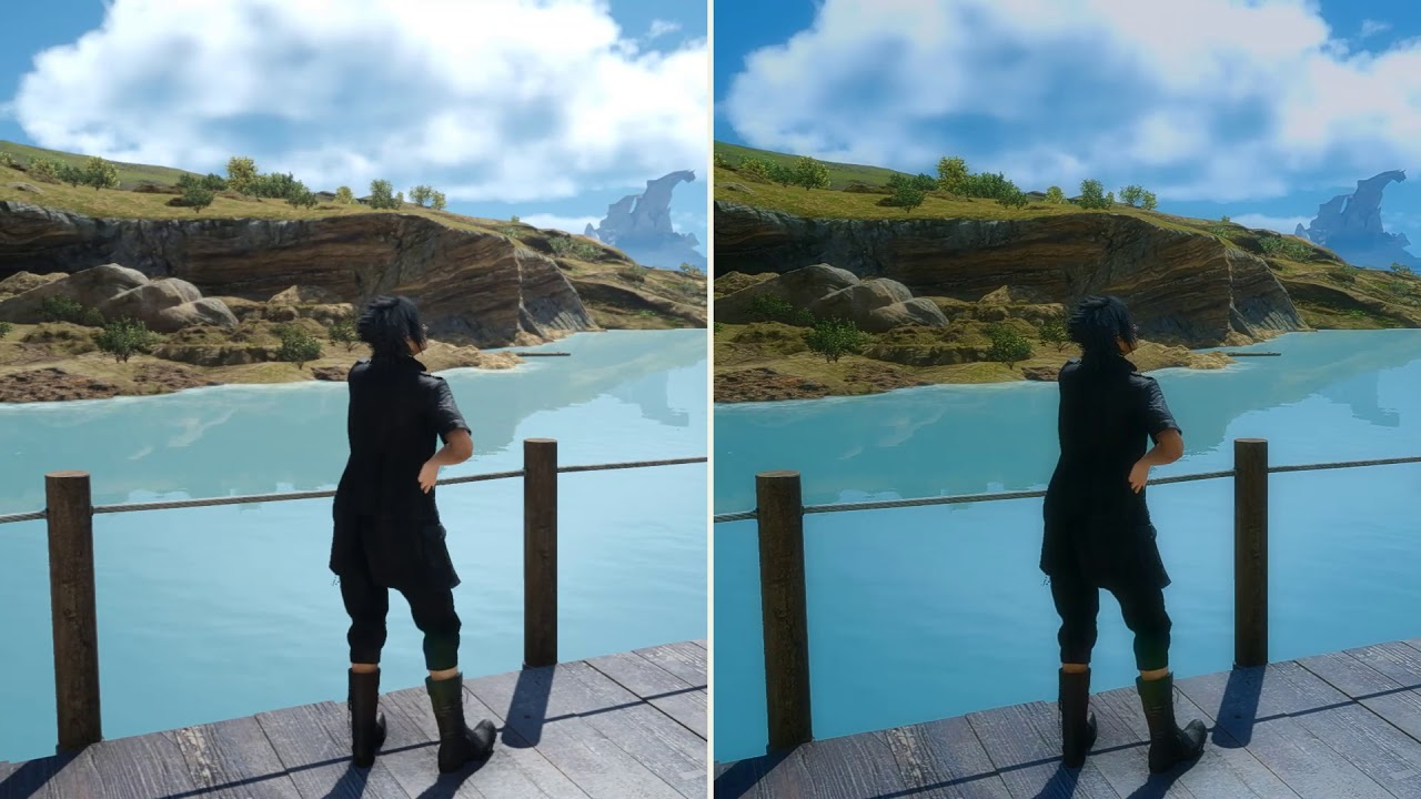 Final Fantasy XV - Enhance Mod Quick Preview