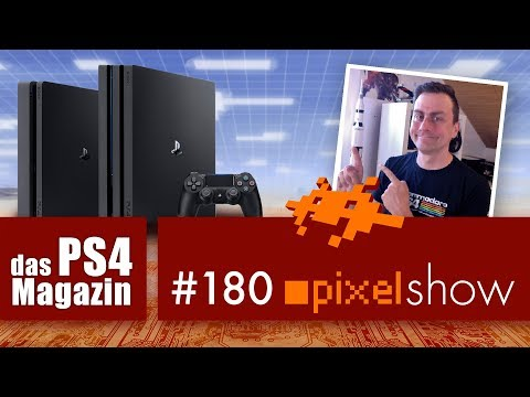 PS4 Magazin pixelshow #180 News, Fragen zur PlayStation 4