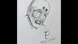 Beautiful Video of Sketch Making of Sai Baba.