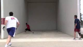 2010 USHA National 3-Wall Championships - MOS J Bastidas vs A Szatkowski (1)