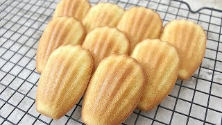 MADELEINE RECIPE | FRENCH BUTTER COOKIES | TAGALOG