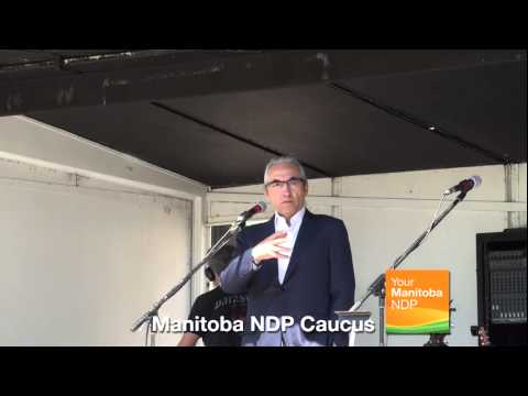 Aboriginal Day at the Manitoba Legislature: Phil Fontaine