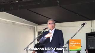 Aboriginal Day at the Manitoba Legislature: Phil Fontaine