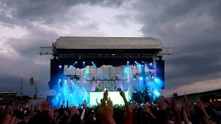 Armin van Buuren @ Cacao Beach 2011 ( Cosmic Gate - Exploration of Space (back to the future remix))
