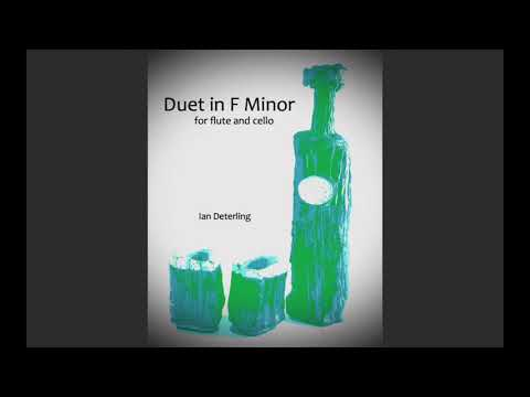 Duet in F Minor (for Flute and Cello)