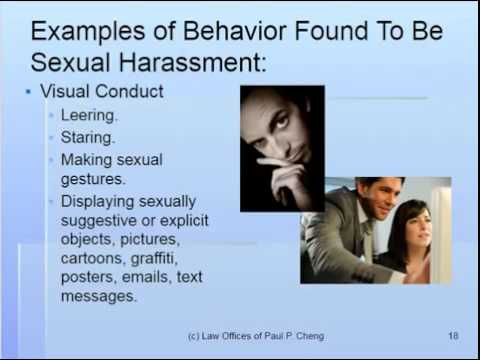Law Offices of Paul P. Cheng - Sexual Harassment Training 02