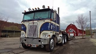 Kenworth K100 with 318 Detroit