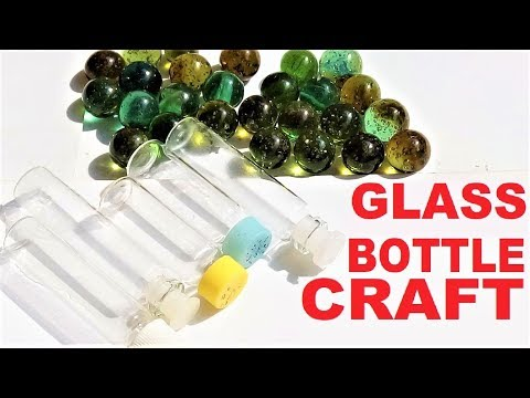Glass bottle crafts | Reuse ideas of waste glass bottles | Best out of waste