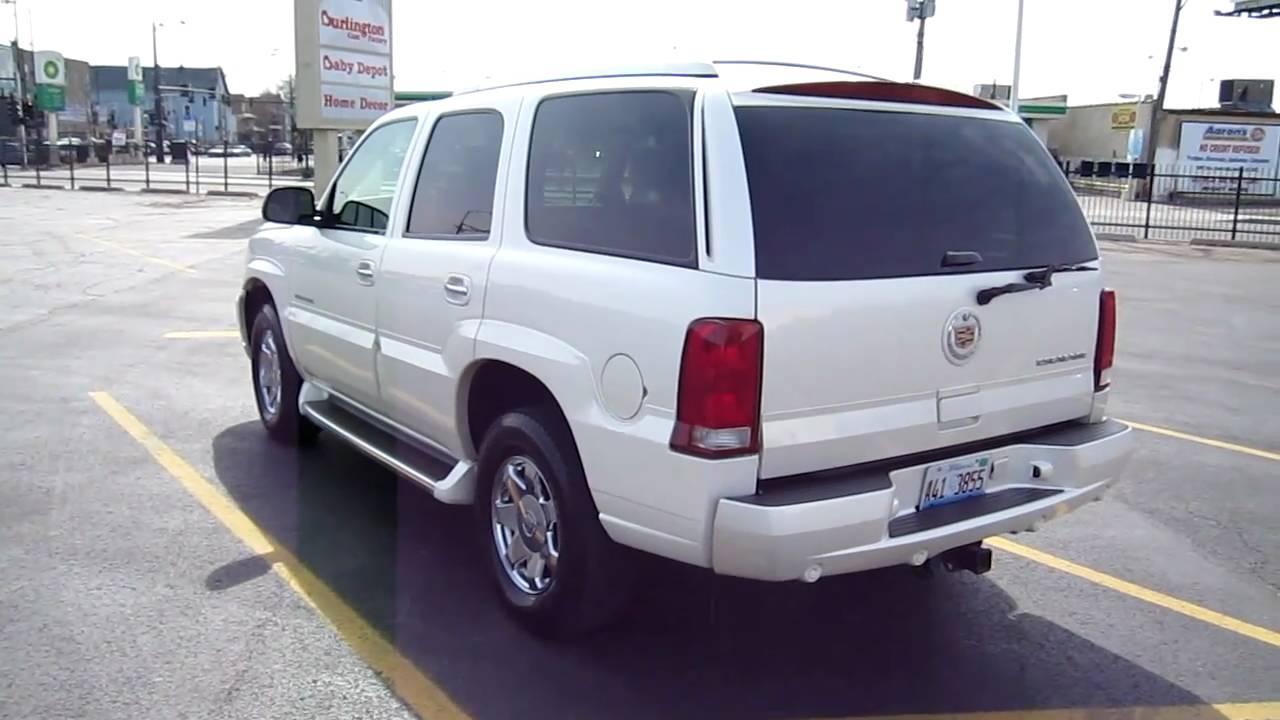 Escalade For Sale >> 2006 Cadillac Escalade AWD For Sale Chicago 96k Miles TV ...