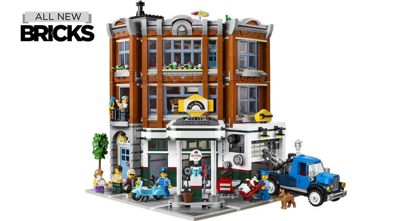 lego creator expert 10264 corner garage official images youtube. Black Bedroom Furniture Sets. Home Design Ideas