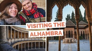 Visiting Alhambra in Granada, Spain