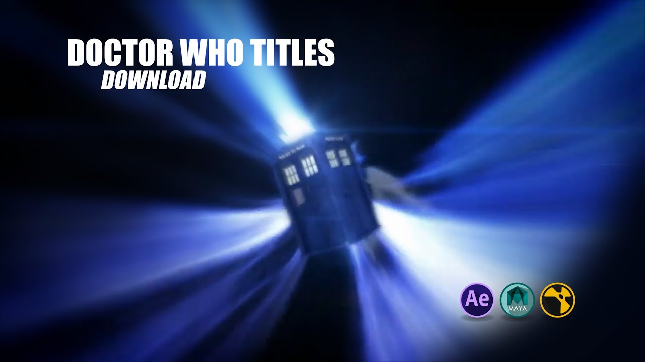 Animated Snow Wallpaper Doctor Who Vortex With Tardis Clean Download Link In