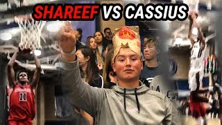 Shareef O'Neal & Cassius Stanley Go HEAD TO HEAD! Fans TROLL REEF With McDonald's Bags!