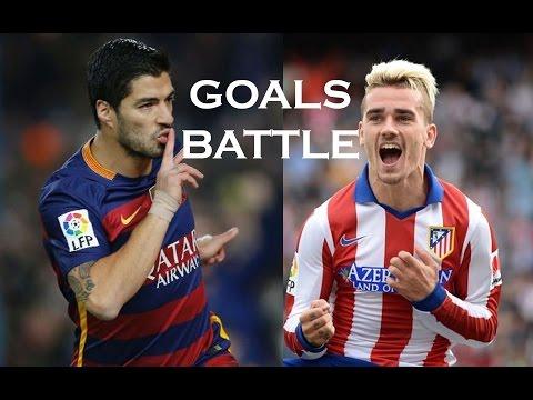 Image result for Luis Suarez vs Griezmann