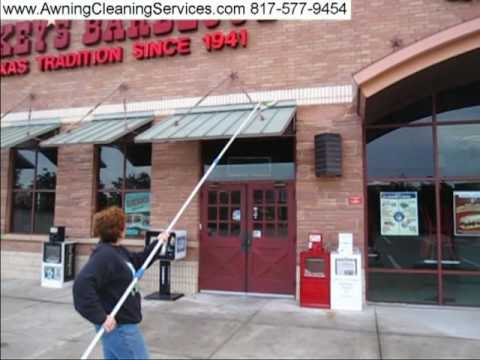 Cleaning Metal Awnings To Remove Rust Dirt And Bird Droppings Dallas Fort Worth TX 817 577 9454