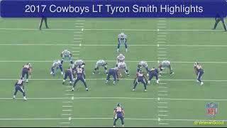 Tyron Smith 2017 Highlight Tape