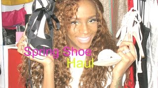Spring-Summer 2016 Shoe Haul & Try On