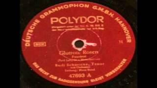 Glutrote Rosen - Rudi Schuricke mit Hans Bund Orchester 1942