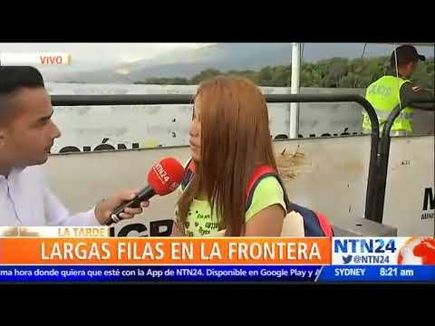 Guardia Nacional reabrió el paso fronterizo entre Venezuela y Colombia