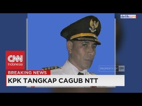 KPK Tangkap Tangan Cagub NTT, Marianus Sae