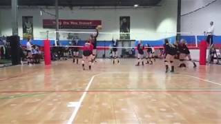 Rebecca Chavez Volleyball Highlights and Skills