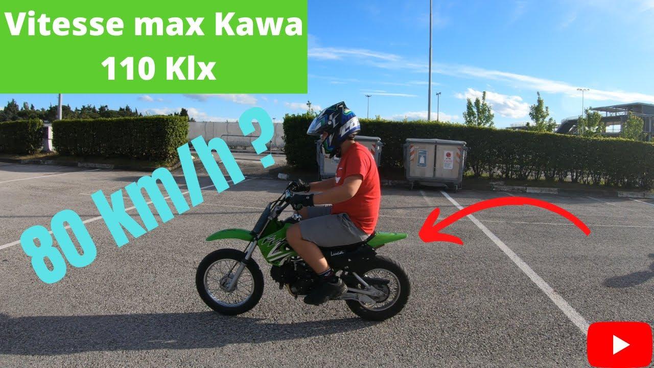 Download Test MAX speed Kawasaki 110 Klx