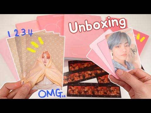 BTS (방탄소년단) Map Of The Soul - Persona Album Unboxing Mp3